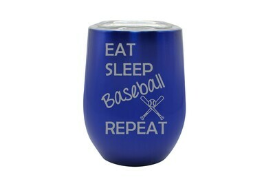Eat Sleep (Choose from 19 Sports) Repeat Insulated Tumbler