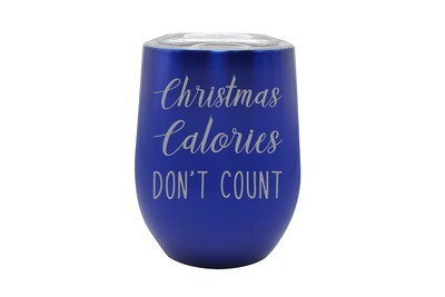 Christmas Calories Don't Count Insulated Tumbler