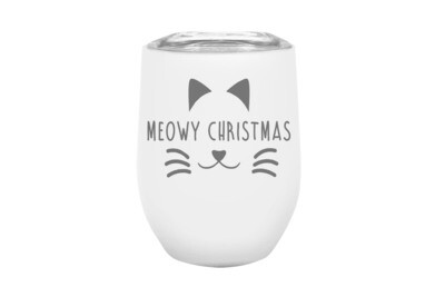 Meowy Christmas Insulated Tumbler