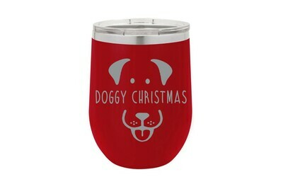Doggy Christmas Insulated Tumbler