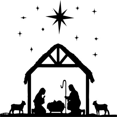 Nativity Scene Insulated Tumbler 20 oz