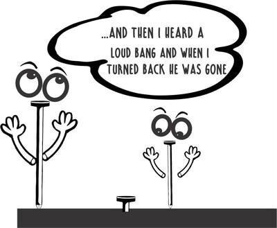 ...And then I heard a loud bang...Comic Insulated Tumbler 20 oz
