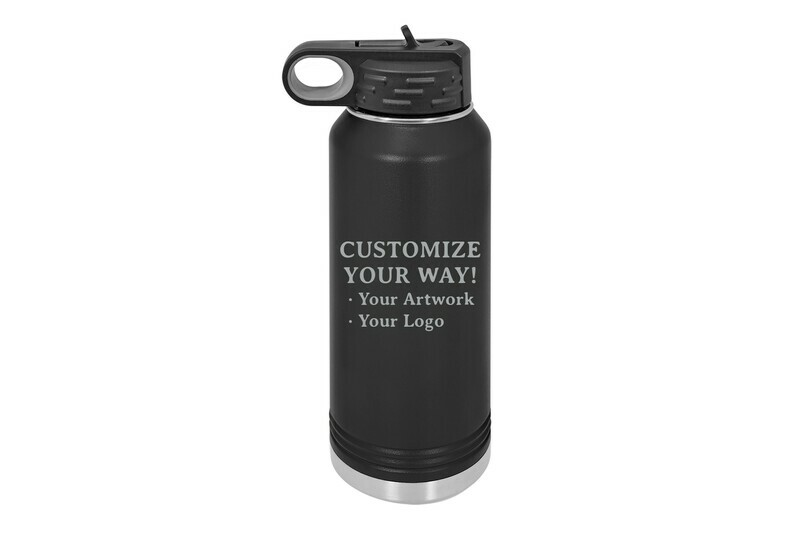 Customize Your Way - Insulated Water Bottle 32 oz