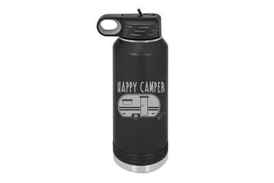 Happy Camper RV Insulated Water Bottle 32 oz