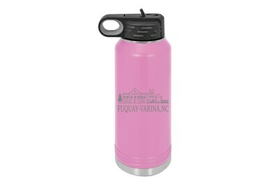 Custom Small Town/Village with City & State Insulated Water Bottle 32 oz