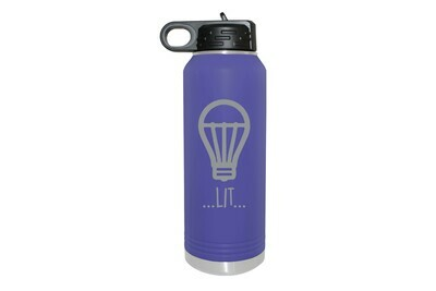 Lit Insulated Water Bottle 32 oz