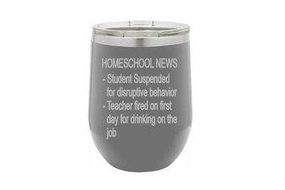 Homeschool News Bulletin Insulated Tumbler
