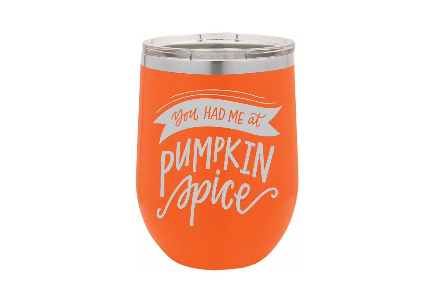 You had me at Pumpkin Spice Insulated Tumbler 12 oz
