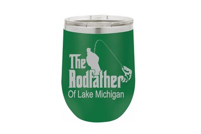 The Rodfather with or without Location Insulated Tumbler