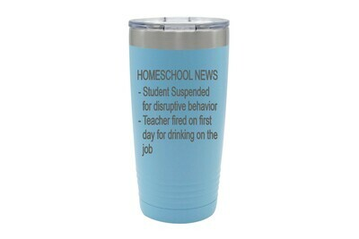 Homeschool News Bulletin Insulated Tumbler 20 oz