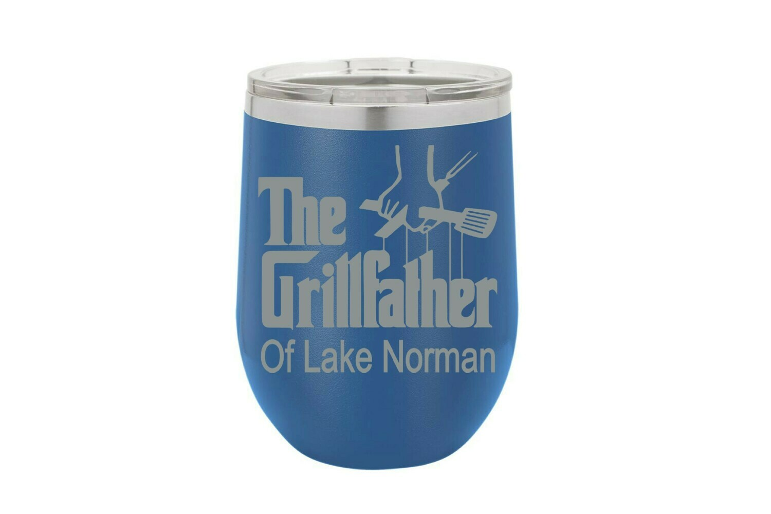 The Grillfather with or without Location Insulated Tumbler