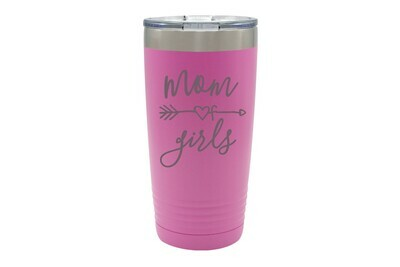 Mom of Girls or 11 Additional Design Choices for Mother's Day Insulated Tumbler 20 oz