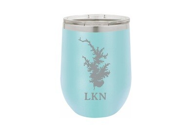 Body of Water w/Location Name Personalized Insulated Tumbler