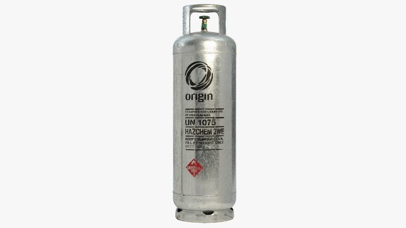 Origin Gas Bottle (45 kg)