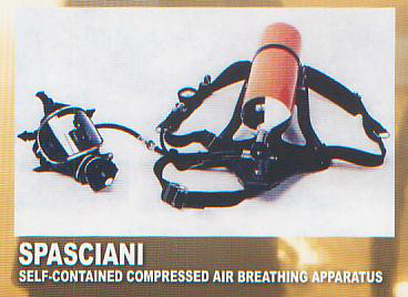 SAFETY EQUIPMENT - SPASCIANI, (Call For Price)