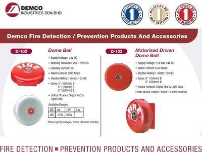 DEMCO Fire Alarm Bell