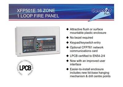 Context Plus Addressable 1 loop panel 32 Zone Fire Alarm Control Panel