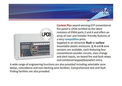 C-TEC CFP Conventional Fire Alarm Control Panel 4 Zone