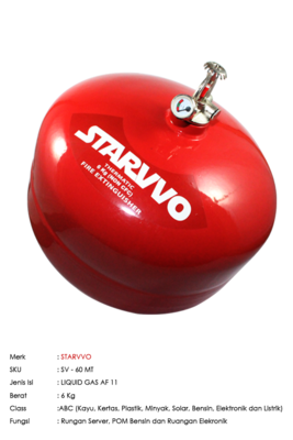 STARVVO THERMATIC AF 11 6 Kg