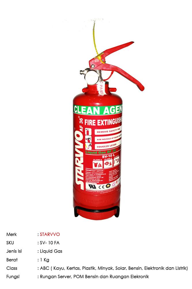 STARVVO AF36 Liquid Gas 1 Kg