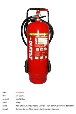STARVVO AF11 Trolley Liquid Gas 20 Kg