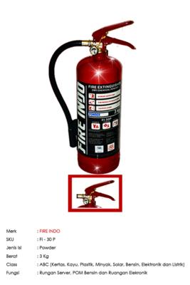 FIRE INDO ABC Powder 3 Kg