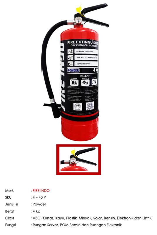 FIRE INDO ABC Powder 4 Kg