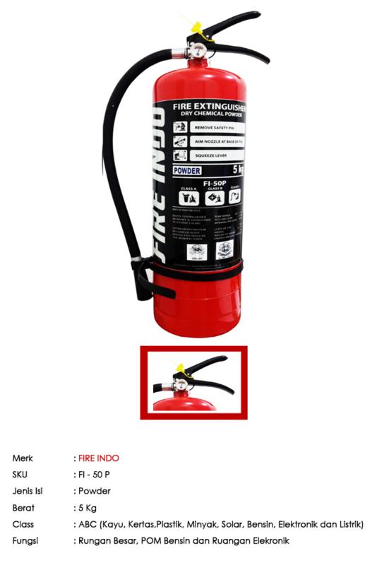 FIRE INDO ABC Powder 5 Kg