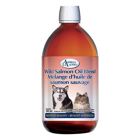 Wild Salmon Oil Blend 500ml