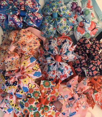 Floral And Butterflies Vintage Design Bow Ties