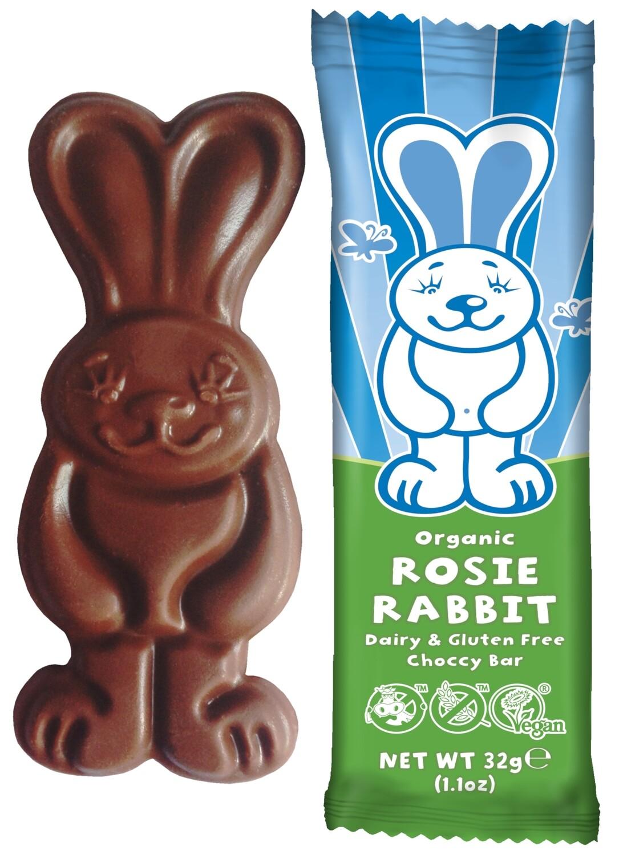 Moo Free - Rosie Rabbit Chocolate Bar 32g