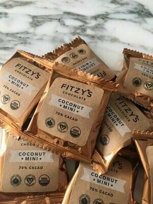 Fitzy's -  Artisan Vegan Chocolate Coconut Mini - 10g