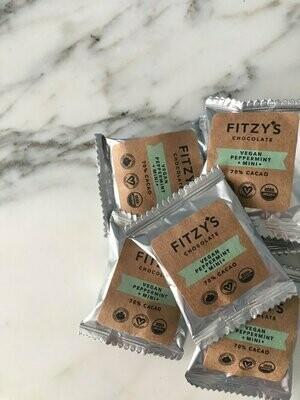Fitzy's - Dark Vegan Chocolate Peppermint Mini - 10g