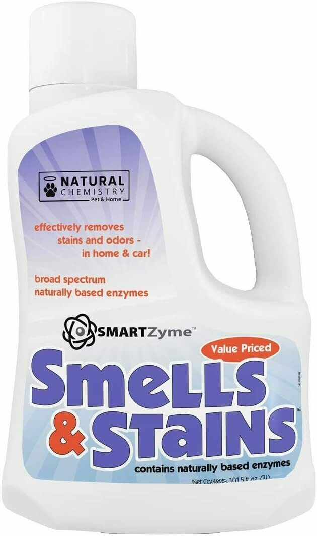 Natural Chemistry - Smells & Stains 3L - Natural Enzyme Cleaner.