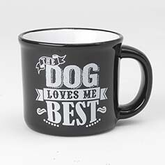 Mug - Dog Loves Me Best - 16oz