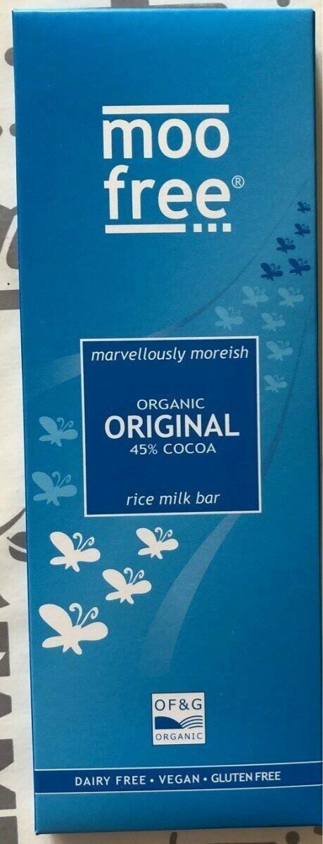 Moo Free - Original 80g - Dairy and Gluten Free Chocolate