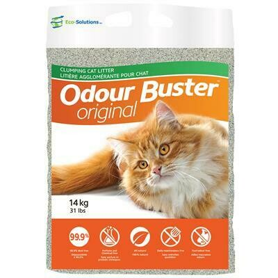 Odour Buster - Original, Cat Litter - 14kg (31lbs) Bag