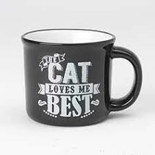Mug - Cat Loves Me Best - 16oz
