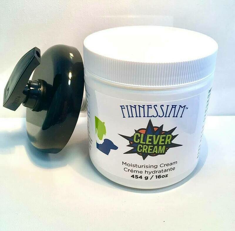 Finnessiam CLEVER Cream Larger 16oz with pump - For topical use.