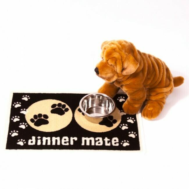 Dinner Mate Food Mats - Black - LAST ONE!