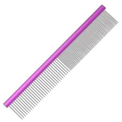 """COMB - Show/Poodle Comb 10"""" long, 1.5"""" teeth;  50/50 spacing. Round spine."""