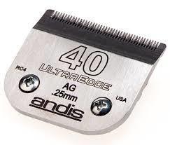ANDIS clipper blades - Ultraedge 40