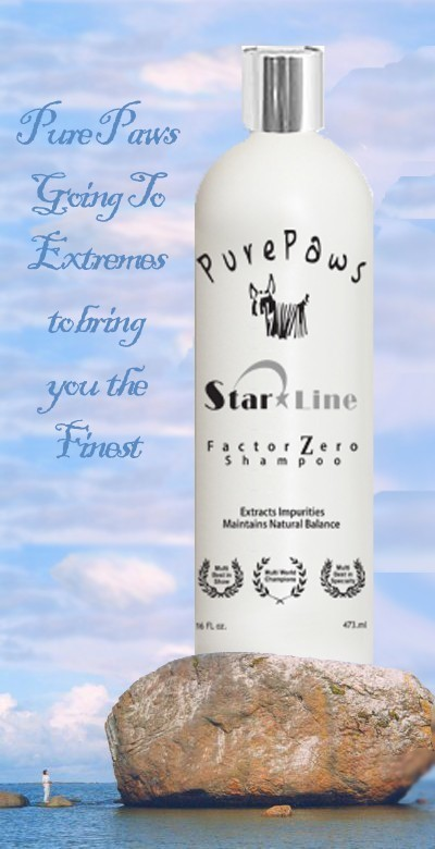 Pure Paws Star Line Factor Zero Shampoo 16oz