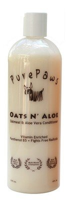 Pure Paws Oats & Aloe Conditioner 16oz - NEW FORMULA