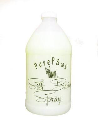 Pure Paws - Silk Basics Leave In Conditioning Spray  Half Gallon - ONE ONLY