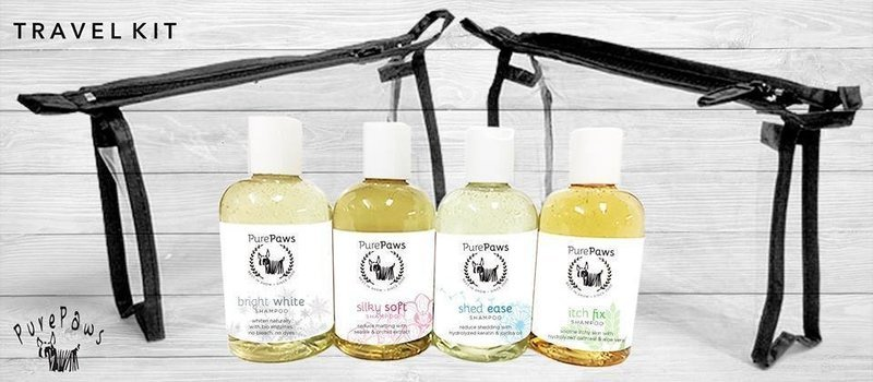 Pure Paws SLS FREE Shampoo Travel Kit