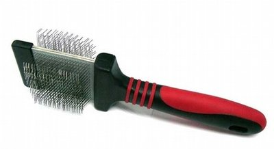 Flexible Double Sided Soft Slicker Brush - Large only
