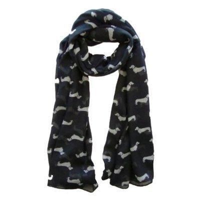 Weiner dog  chiffon scarf!