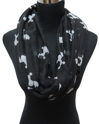 Infinity Scarf - Poodles