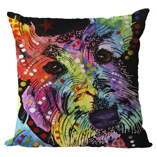 Terrier Cushion Cover